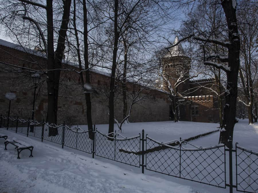 Planty et Porte Florian dans le fond