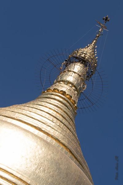 Stupa doré