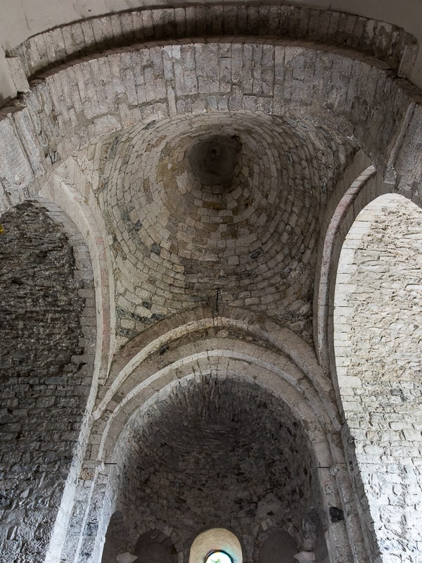 Eglise de Saint-Thomé en Ardèche - architecture romane du XIIème siècle