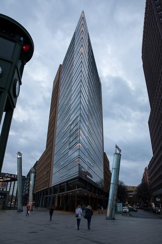 Immeuble de la Potsdamer Platz