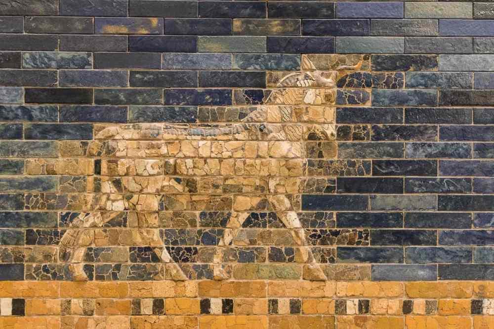 porte Ishtar détail