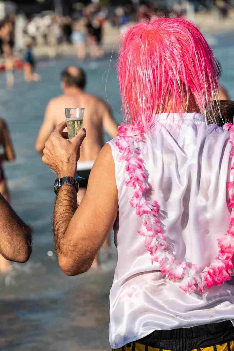 Le bain du jour de l'an 2019 à Antibes - 16
