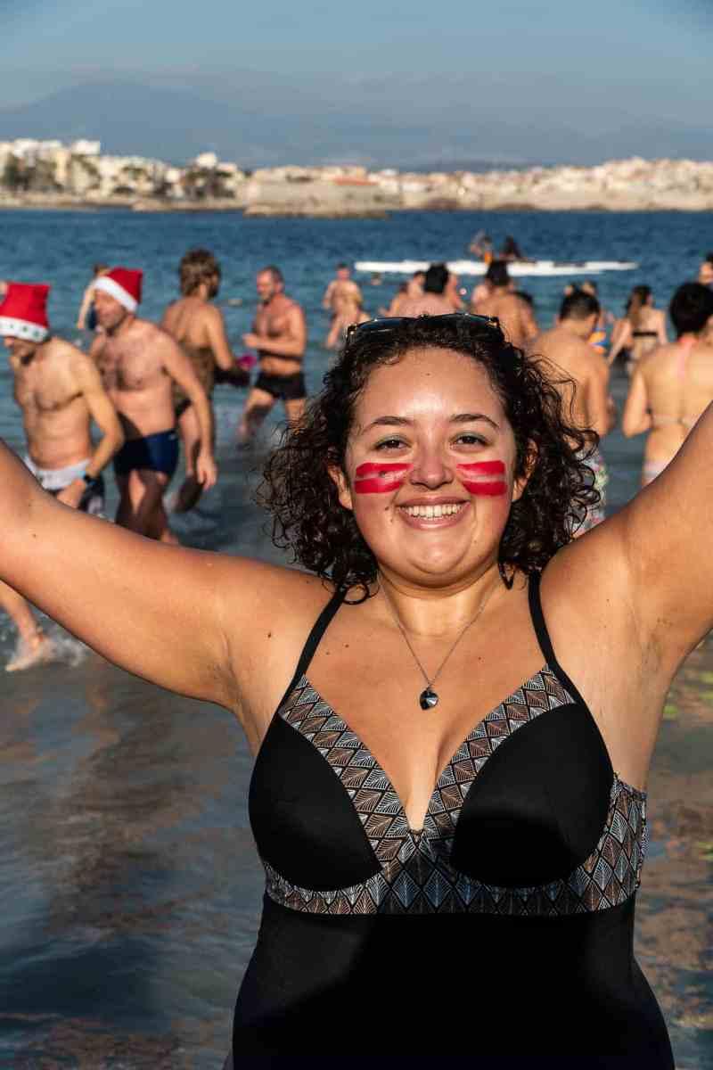 Le bain du jour de l'an 2019 à Antibes - 7