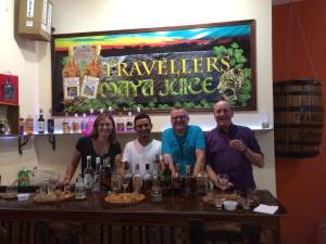 Rain Forest Haven Inn Rum Tasting San Ignacio