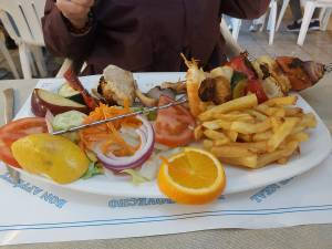 Fish Skewer Joanny Restaurant Nerja