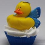 Butterfly ducky soap cupcake