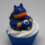 Bat ducky soap cupcake