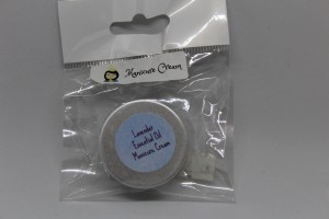Lavender Essential Oil Manicure cream