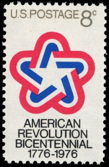 American_Revolution_Bicentennial_8c_1971_issue_U.S._stamp