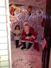 Santa with a guest