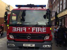 The Fire Brigade came