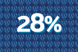 WordPress 28 Percent