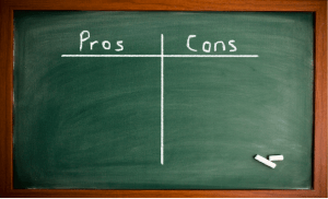 Pros and Cons of Lists