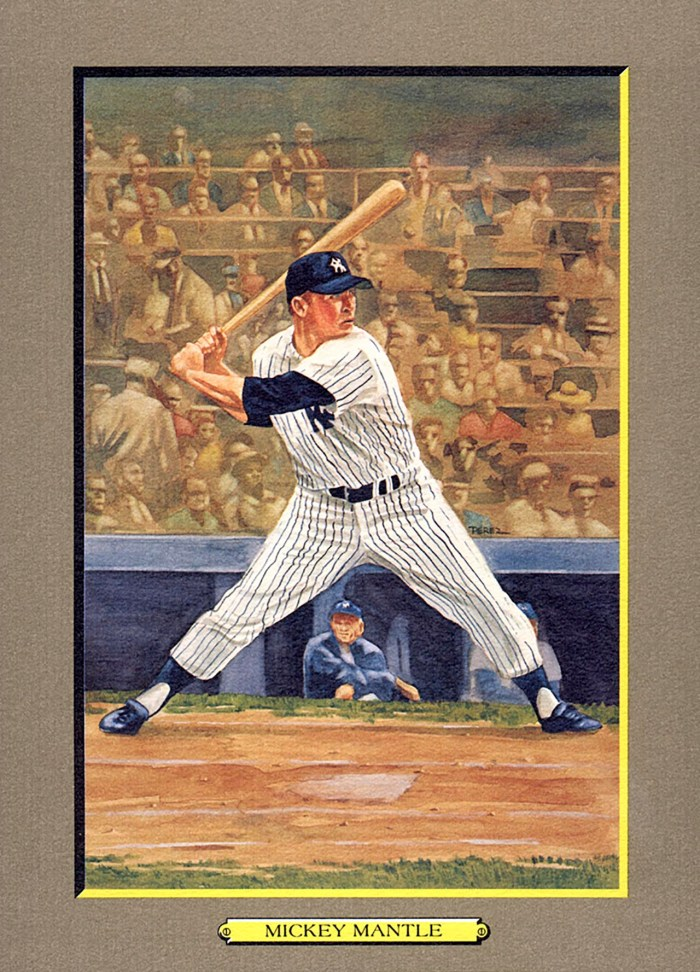 Card 19- Mickey Mantle