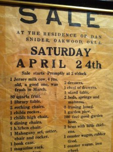 oakwood sale