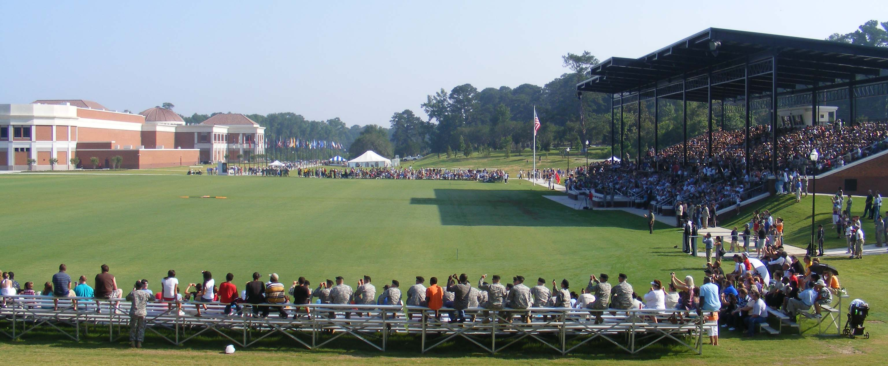 Parade Field, National Infantry Museum, Ft. Benning (The Parade Field is actually on the Ft. Benning Reservation, but the Museum building is in Columbus.)
