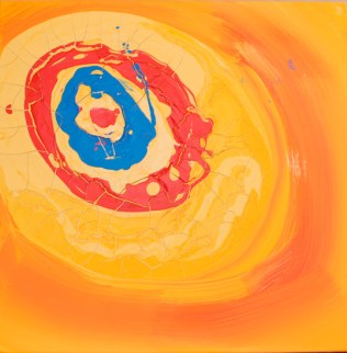 "Contrasts CCLIX (259), 12""x12"", acrylic on canvas"