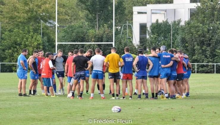 FC Grenoble Rugby Espoirs – Entraînement (1)