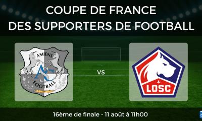 16èmes CDF Foot Amiens LOSC