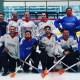Les championnats d'Europe de Broomball se déroulent à Angers ce week-end