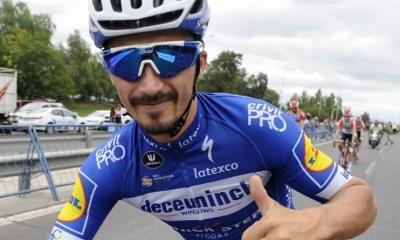 Julian Alaphilippe élu coureur international de l'année par Cycling Weekly