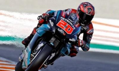 Moto GP - Fabio Quartararo en pole position à Valence