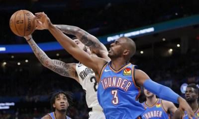 NBA - Le Thunder s'impose contre les Pelicans