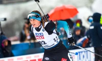Biathlon - Pokljuka - Anaïs Bescond troisième de l'individuel, Denise Herrmann s'impose