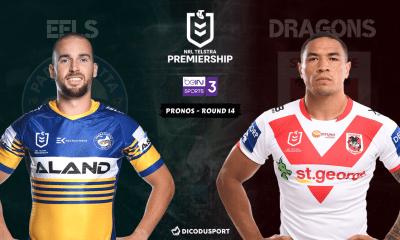 NRL : notre pronostic pour Parramatta Eels - St. George Illawarra Dragons