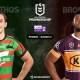 NRL : notre pronostic pour South Sydney Rabbitohs - Brisbane Broncos