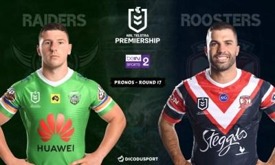 NRL : notre pronostic pour Canberra Raiders - Sydney Roosters