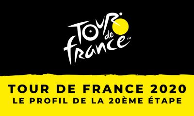 Tour de France 2020 : le profil du contre-la-montre de la 20ème étape