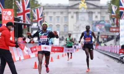 Marathon de Londres : Eliud Kipchoge se loupe, Shuru Kitata s'impose