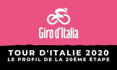 Tour d'Italie 2020 - Le profil de la 20ème étape