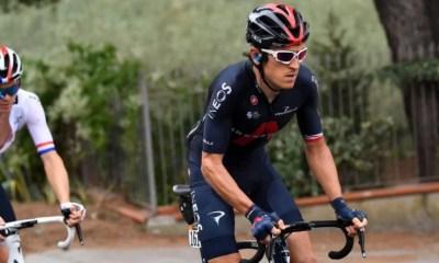 [Vidéo] La lourde chute de de Geraint Thomas qui explique sa défaillance sur le Giro