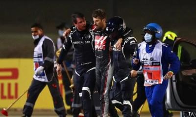 F1 - Bahreïn - Ce qui a sauvé la vie de Romain Grosjean