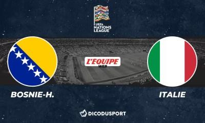 Football - Ligue des Nations - notre pronostic pour Bosnie-Herzégovine - Italie