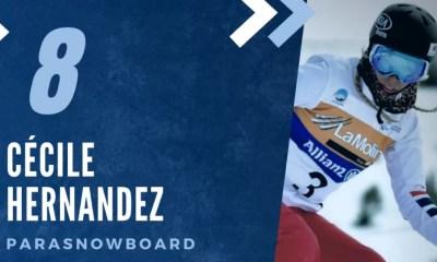 Championne des Championnes françaises 2020 - Cécile Hernandez (8ème), un triplé de cristal