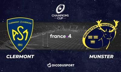 Champions Cup : notre pronostic pour Clermont - Munster