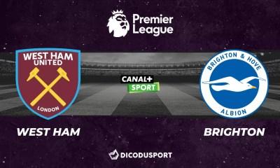 Football - Premier League notre pronostic pour West Ham - Brighton