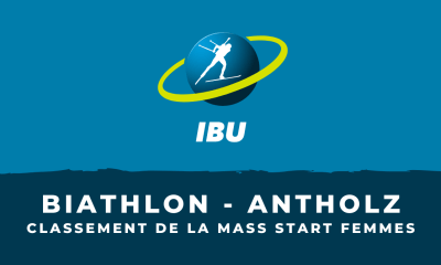 Biathlon - Antholz-Anterselva - Le classement de la mass start femmes