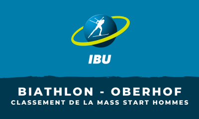 Biathlon - Oberhof - Le classement de la mass start hommes