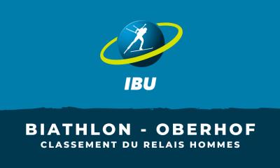Biathlon - Oberhof - Le classement du relais hommes