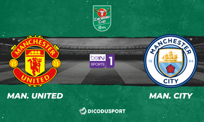 Football - Carabao Cup notre pronostic pour Manchester United - Manchester City