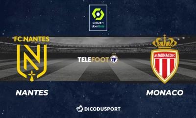Football - Ligue 1 notre pronostic pour Nantes - Monaco
