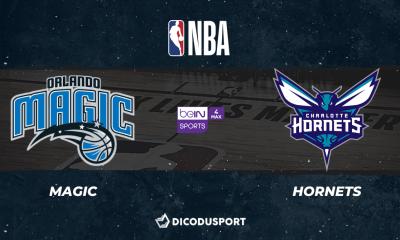 NBA notre pronostic pour Orlando Magic - Charlotte Hornets