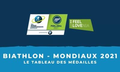 Biathlon - Championnats du monde 2021 - Le tableau des médailles