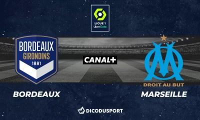 Football - Ligue 1 notre pronostic pour Bordeaux - Marseille