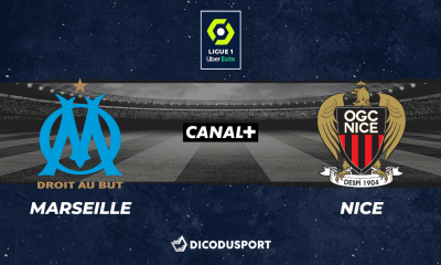 Football - Ligue 1 notre pronostic pour Marseille - Nice