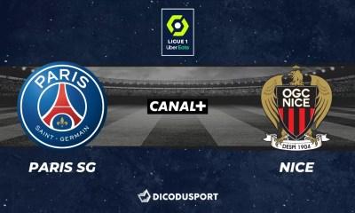 Football - Ligue 1 notre pronostic pour Paris SG - Nice
